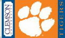 NEOPlex K92025-CLEMSON Clemson Tigers 3'X 5' Double Sided Flag