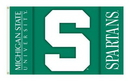 NEOPlex K92029-MICHIGAN-STATE Michigan State Spartans 3'X 5' Double Sided Flag