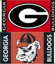 NEOPlex K92107-GEORGIA Georgia Bulldogs 3'X 5' Double Sided Flag