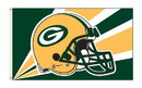 NEOPlex K94216B Green Bay Packers Hel 3'X 5' Flag 1-Sided