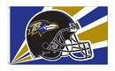 NEOPlex K94231B Baltimore Ravens 3'X 5' Nfl Flags