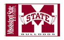 NEOPlex K95021 Mississippi State Bulldogs 3'X 5' College Flag