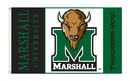 NEOPlex K95035 Marshall Thundering Herd 3'X 5' College Flag