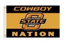 NEOPlex K95047 Oklahoma State Cowboys 3'X 5' College Flag