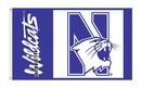 NEOPlex K95069 Northwestern 3'X 5' Flag 1-Sided