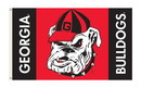 NEOPlex K95107 Georgia Bulldogs 3'X 5' College Flag