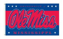 NEOPlex K95116 Ole Miss Rebels 3'X 5' College Flag