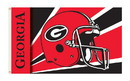 NEOPlex K95307 Georgia Bulldogs Helmet 3'X 5' College Flag