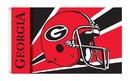 NEOPlex K95307 Georgia Bulldogs Helmet 3'X 5' College Flag