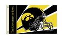 NEOPlex K95324 Iowa Hawkeyes Helmet 3'X 5' College Flag