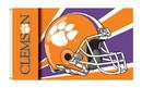 NEOPlex K95325 Clemson Tigers Helmet 3'X 5' College Flag
