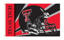 NEOPlex K95327 Texas Tech Red Raiders Helmet 3'X 5' College Flag