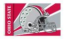 NEOPlex K95355 Ohio State Buckeyes Helmet 3'X 5' College Flag