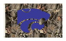 NEOPlex K95418 Kansas State Wildcats Realtree Camo 3'X 5' College Flag