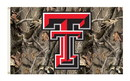 NEOPlex K95427 Texas Tech Red Raiders Realtree Camo 3'X 5' College Flag