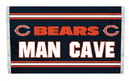 NEOPlex K95501B Chicago Bears Man Cave 3X5 Flag