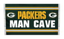 NEOPlex K95516B Green Bay Packers Man Cave 3'X 5' Nfl Flag