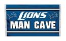 NEOPlex K95521B Detroit Lions Man Cave 3'X 5' Nfl Flag
