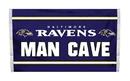 NEOPlex K95531B Baltimore Ravens Man Cave 3'X 5' Nfl Flag