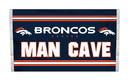 NEOPlex K95532B Denver Broncos Man Cave 3'X 5' Nfl Flag