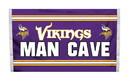 NEOPlex K95535B Minnesota Vikings Man Cave 3'X 5' Nfl Flag