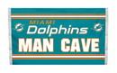 NEOPlex K95537B Miami Dolphins Man Cave 3'X 5' Nfl Flag