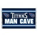 NEOPlex K95543B Tennessee Titans Man Cave 3'X 5' Nfl Flag