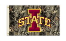 NEOPlex K95822 Iowa State Cyclones Realtree Camo 3'X 5' College Flag