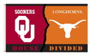 NEOPlex K95934 Oklahoma Sooners/Texas Longhorns House Divided 3'X 5' College Flag