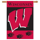 NEOPlex K96020 Wisconsin Badgers House Banner