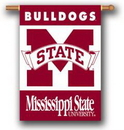 NEOPlex K96021-MISSISSIPPI-STATE Mississippi State Bulldogs House Banner