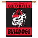NEOPlex K96107 Georgia Bulldogs House Banner
