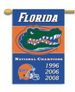 NEOPlex K96309 Florida Gators Champion Years House Banner