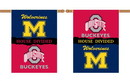 NEOPlex K96553 Michigan Wolverines/Ohio State House Divided 28