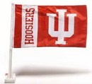 NEOPlex K97023-INDIANA Indiana Hoosiers Double Sided Car Flag