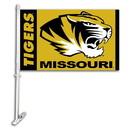 NEOPlex K97043 Missouri Tigers Double Sided Car Flag