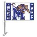 NEOPlex K97044 Memphis Tigers Double Sided Car Flag
