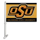 NEOPlex K97047 Oklahoma State Cowboys Double Sided Car Flag