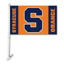 NEOPlex K97048 Syracuse Orangemen Double Sided Car Flag