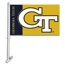NEOPlex K97049 Georgia Tech Yellow Jackets Double Sided Car Flag