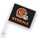 NEOPlex K98918 Cincinnati Bengals Double Sided Car Flag
