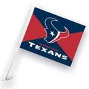 NEOPlex K98963 Houston Texans Double Sided Car Flag