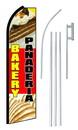 NEOPlex SW10038-4PL-SGS Bakery Panaderia Extra Wide Swooper Flag Bundle