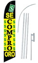 NEOPlex SW10078-SGS-4DL Se Compro Oro Windless Swooper Flag Kit