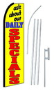 NEOPlex SW10133-4PL-SGS Ask About Our Daily Specials Swooper Flag Kit