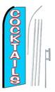 NEOPlex SW10143-4PL-SGS Cocktails Swooper Flag Kit