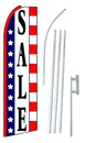 NEOPlex SW10166-4PL-SGS Sale Stars & Stripes Swooper Flag Kit