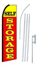 NEOPlex SW10168-4PL-SGS Self Storage Red Swooper Flag Kit