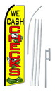 NEOPlex SW10177-SGS-4PL We Cash Checks $ Swooper Flag Kit