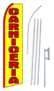 NEOPlex SW10182-4PL-SGS Carniceria(Meat Shop) Swooper Flag Kit